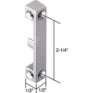"CRL E2052 Lock Keeper with 2-1/4"" Screw Holes"
