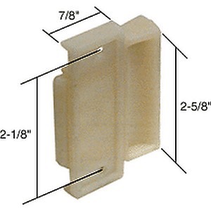 "CRL F2505 Sliding Window Latch and Pull with 2-1/8"" Screw Holes"