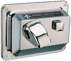 Excel Dryer R76-C Push Button Hand Dryer