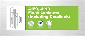 Adams Rite 4190-10-3-119-01-IB Flush Lock Individually Boxed