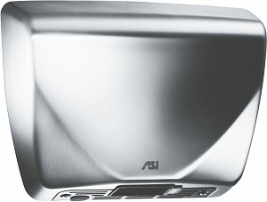 ASI 0185-93 Roval Steel Cover Hand Dryer, 93 Satin Stainless Steel