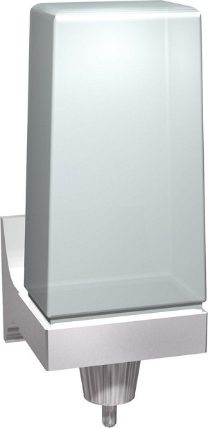 ASI 0356 Soap Dispenser (Liquid, Push-up type) 24 oz, Surface Mounted