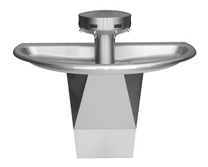 Bradley S93-633 Washfountain Sentry Stainless 54""