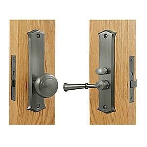 Deltana SDL688U15A Storm Door Latch, Classic, Mortise Lock, Antique Nickel (Each)