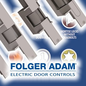 Folger Adam 710-75-F-24D Electric Strike Body Only