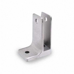 "Jacknob 1573 Wall Bracket One Ear 1/2"", Stainless Steel"