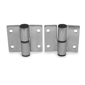 "Jacknob 7089 Hinge Surface Mounted .090"", Steel Satin"