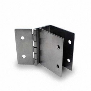 "Jacknob 111359 Wall Bracket Hinged 1"" X-High 3"" Long"