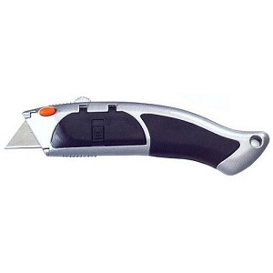 Morris 54612 Utility Knife - Auto Load - Quick Change - Retractable Blade