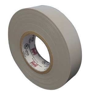 "Morris 60118 7 Mil Professional Grade Vinyl Electrical Tape Gray 3/4"" x 66'"