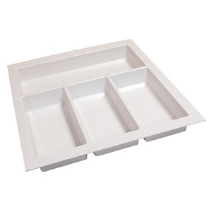 "Hafele 556.55.763 Sky Cutlery Tray, for 21"" and 21 11/16"" Deep Drawer, Plastic"