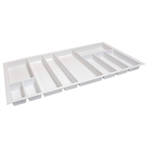 "Hafele 556.55.790 Sky Cutlery Tray, for 21"" and 21 11/16"" Deep Drawer, Plastic"