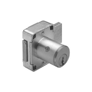 Olympus Lock 100DR-US26D-78KA103 7/8in Door Deadbolt Lock Natl Kwy