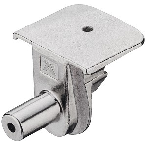 Hafele 263.71.613  Tab V Support Element, Tab 15, for wood thickness 18 mm