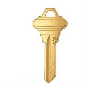 CLK Supplies Supplies SC4BR Schlage C Keyway 6 Pin Key Blank