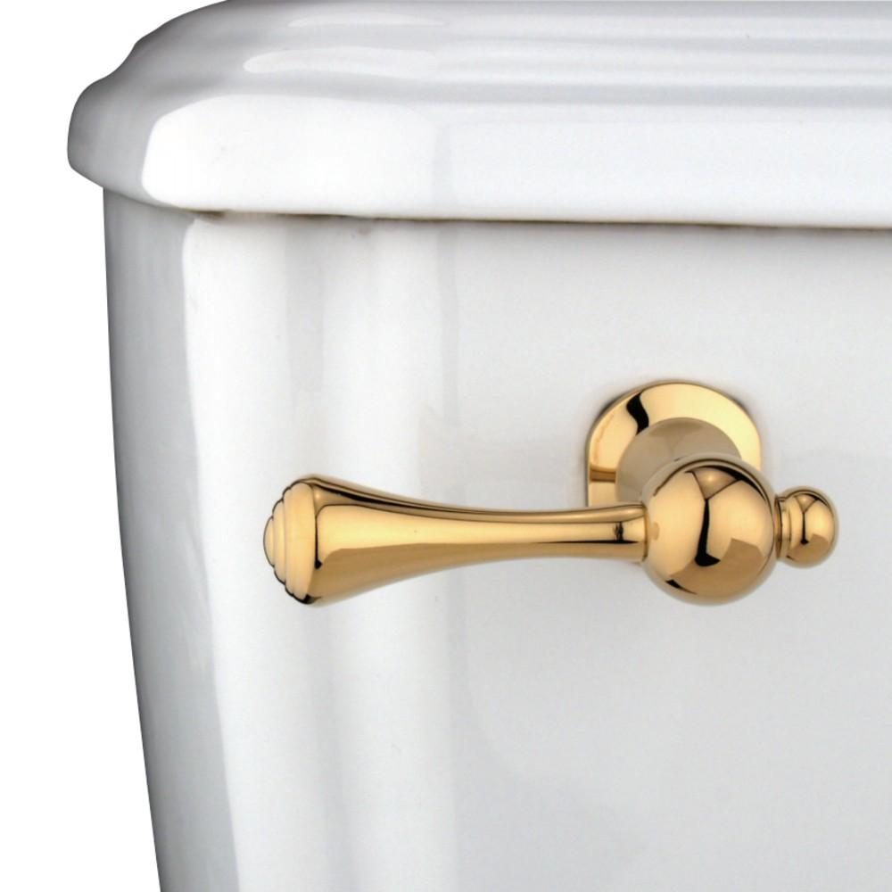 Kingston Brass Ktbl2 Buckingham Toilet Tank Lever Polished Brass Thebuilderssupply Com