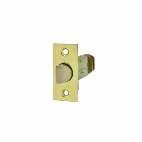 Weslock 32720X4-SL Dual Option Adjustable Spring Latch Satin Brass Finish